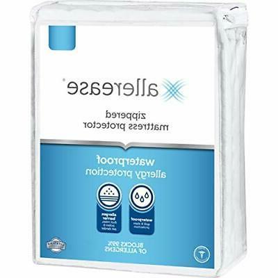 AllerEase Waterproof Allergy Protection zip. Mattress Protec