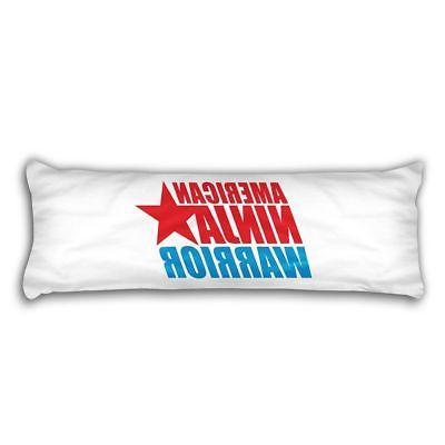 American Ninja Warrior 2015 USA Logo 21x60 Body Pillow Case