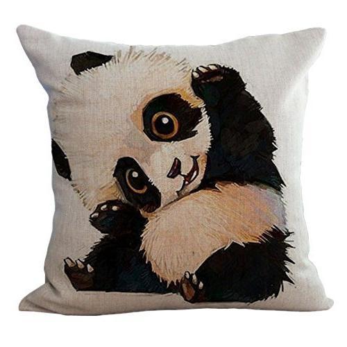 animal printed decorative stuffed cushion