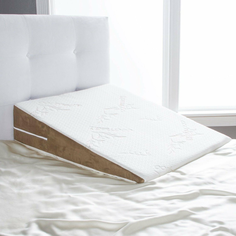 avana bed wedge memory foam