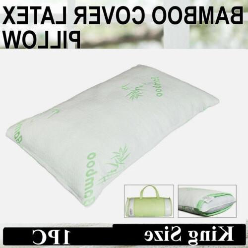 bamboo body neck back support pillow memory