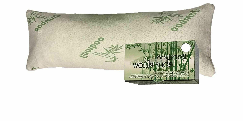 bamboo shredded memory foam full size body