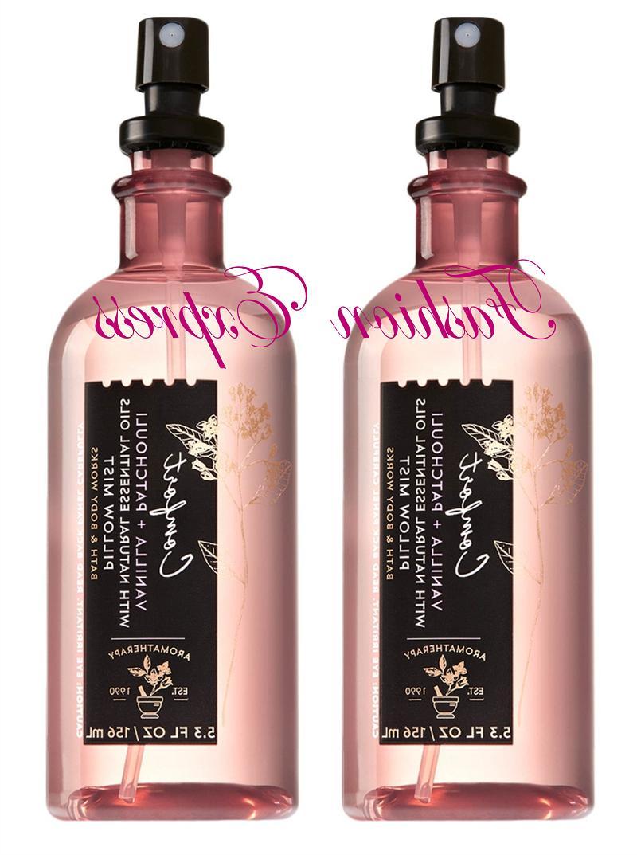 bath and body works comfort vanilla patchouli