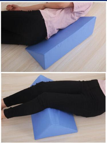 Bed Wedge Body Elevate Support Back Neck Leg Rest