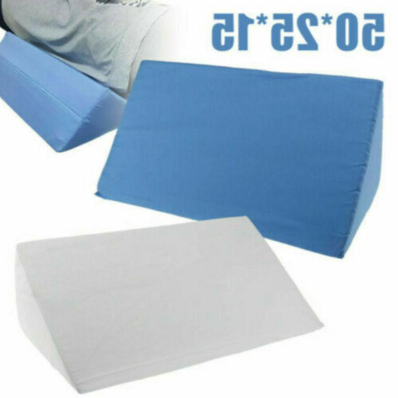 bed wedge pillow foam body positioner elevate