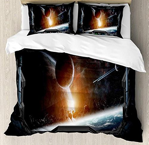 bedding outer space duvet cover