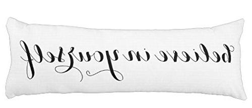 believe yourself pillow cover