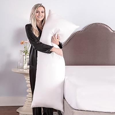 Body Pillow 20 54 Inch Thread Count Hypoallergenic Fiber Fill