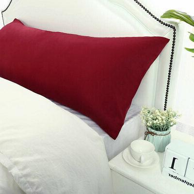 1800 Series Microfiber Long Bedding Body Pillow Covers