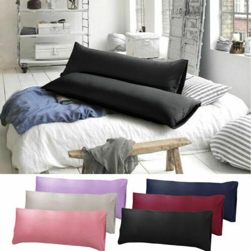 1 2pcs body pillow cover soft microfiber