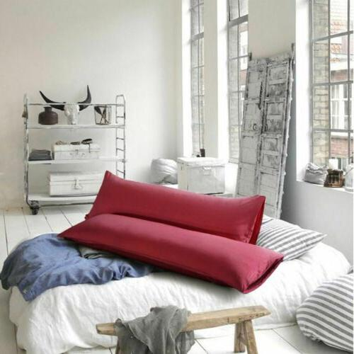 1-2PCS Pillow Soft Microfiber Case USA