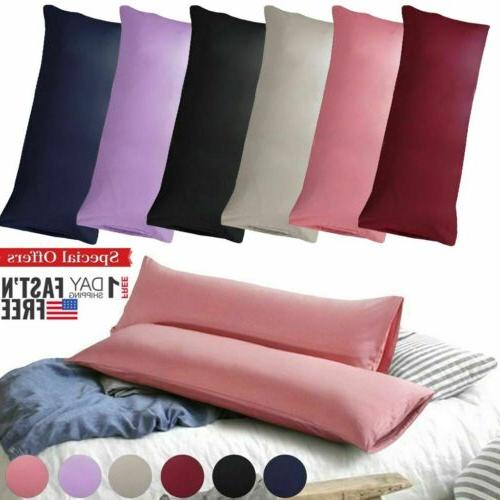 body pillow case soft microfiber long bedding