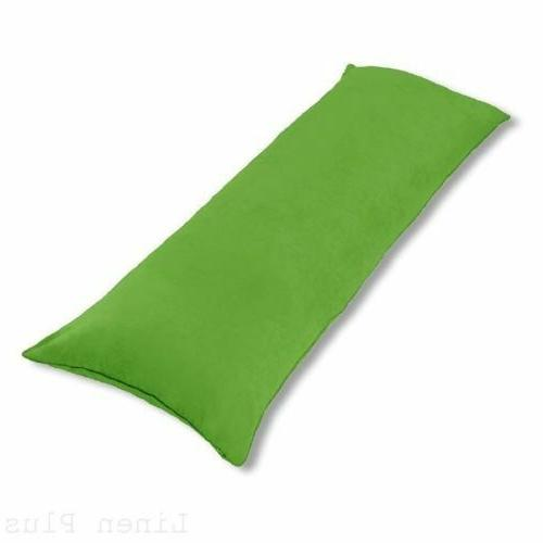 body pillow cover case soft micro suede