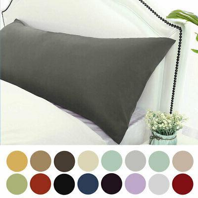 Body Pillow Cover Long Microfiber Pillowcase for Body Pillow