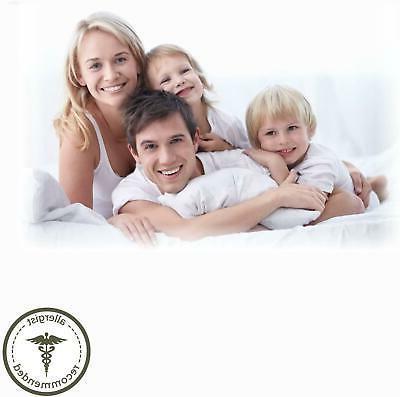 Body Pillow Large Long 100% Cotton Allergy Medium Density 54