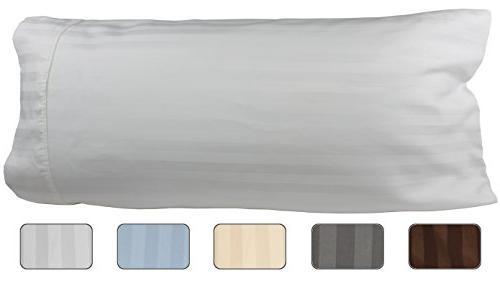 body pillowcase 100 egyptian cotton 540 thread count 21x60 p