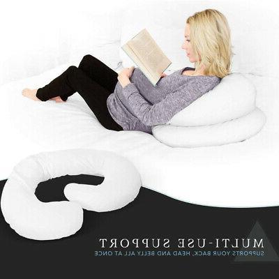 C Body Pregnancy w/ Zippered Cotton Cover dw