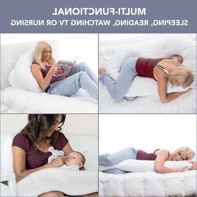 C Shape Pregnancy / Maternity w/ Zippered Cover