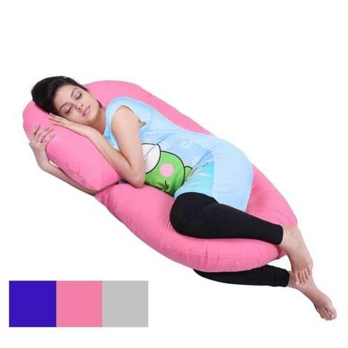 c shape total body pregnancy pillow sleep
