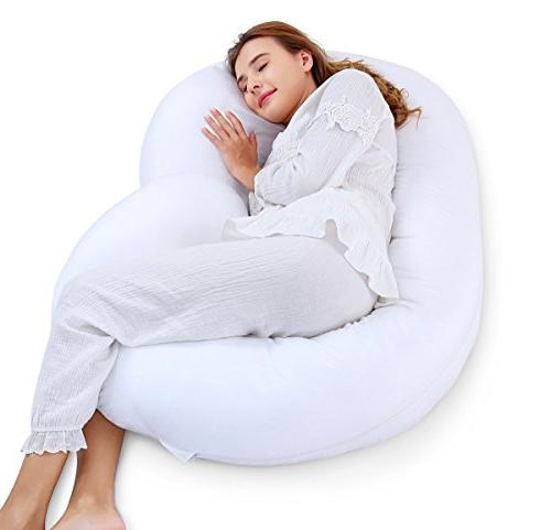 c shaped pregnancy maternity pillow