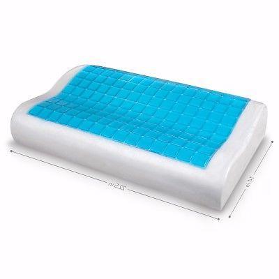Contour Memory w/ Cooling Gel Orthopedic Reversible