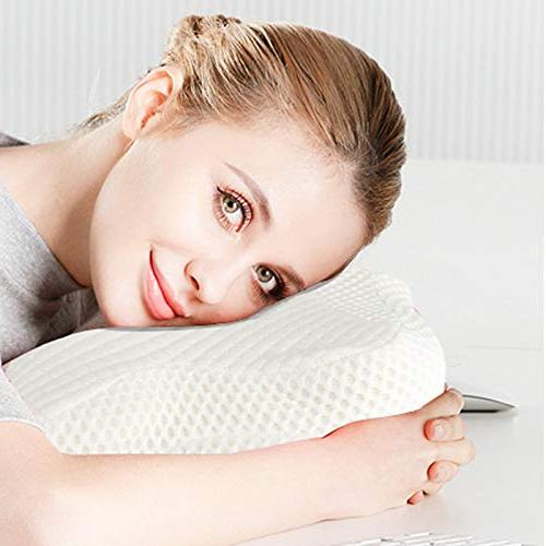 HANKEY Memory Cervical Cover Side & Tummy Sleepers, & Pillow - Neck Shoulder Relief