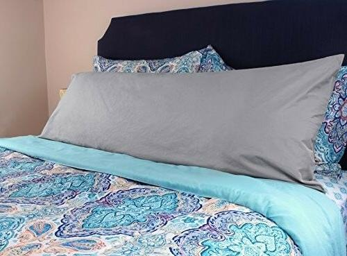 """Cotton Cover Bedding Accessories Gray 20x54"""""""
