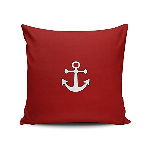 custom home decor pillowcase red