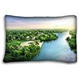 """Custom Nature Zippered Body Pillow Case Cover Size 20""""X30"""" s"""