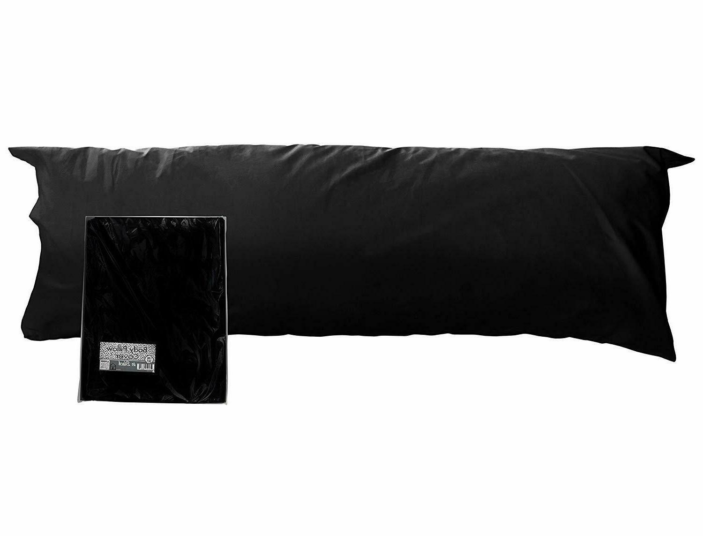 Darware 100% Cotton Body Pillow Case Cover ; 20 x 54 Inches