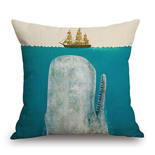 decorative square throw pillow case