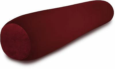 deluxecomfort lrgmbr 041 maroon microbead