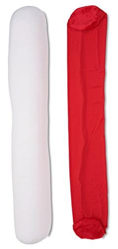 Deluxe Comfort Microbead Body Pillow Replacement Cover, 47""
