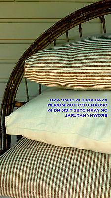 Eco Wool Bed Pillow USA New Natural