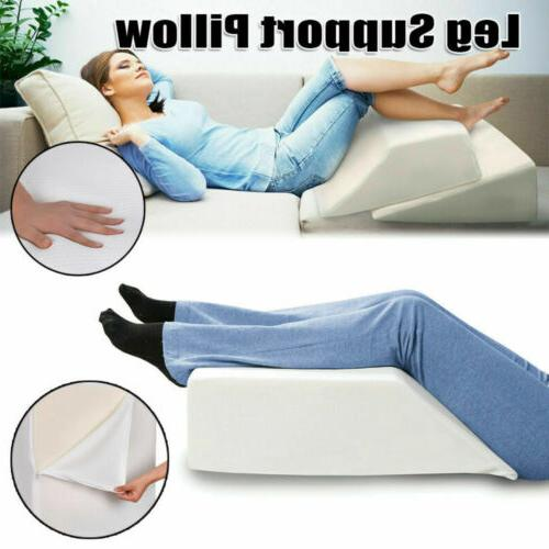 Elevating Wedge Bed Pillow Reflux Pain w/Cover