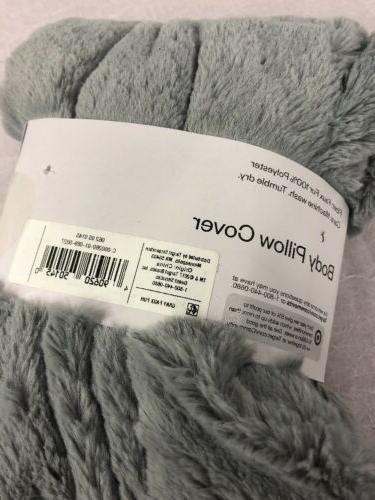 Room Body Pillow Gray Luxurious Cozy Z