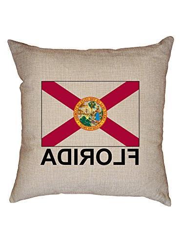 florida state flag throw cushion