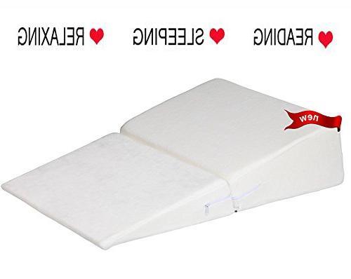 foam folding wedge pillow contour