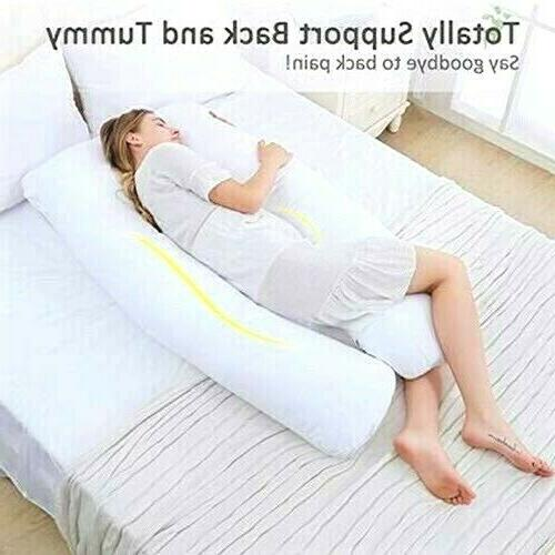 Full Giant Pillow Maternity White