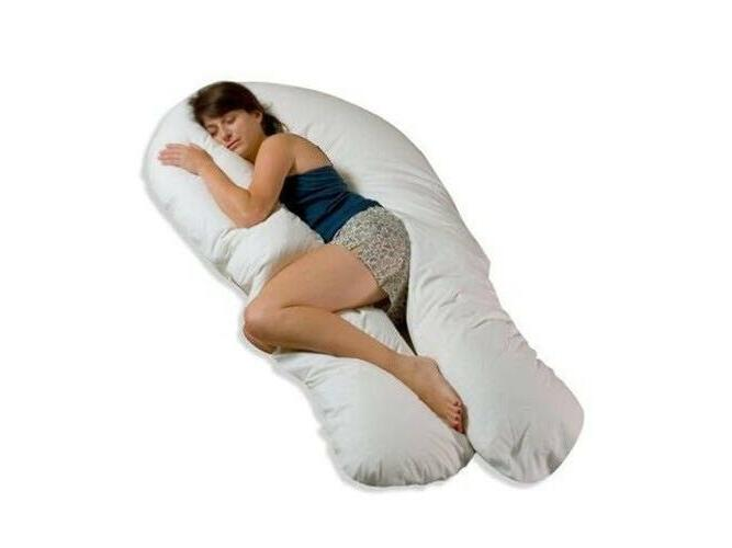 Full Body Pillow with Maternity Women White