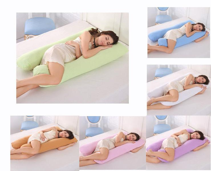 Full Body Pillow U Shaped Nursing Pregnancy Pillow & Materni
