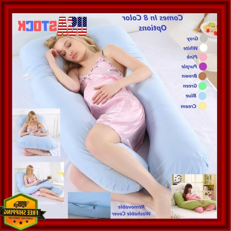 Full Body Pregnancy Pillow for Maternity Pregnant Women U Sh