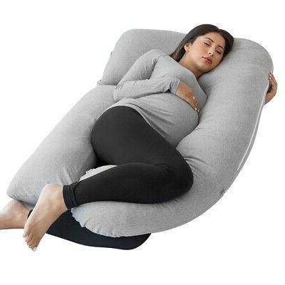 U Shape Pregnancy Pillow Full Body Pillow for Maternity Preg