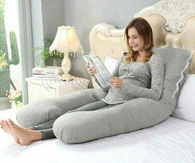 Full Pregnancy Pillow SOFT For Women U Shape