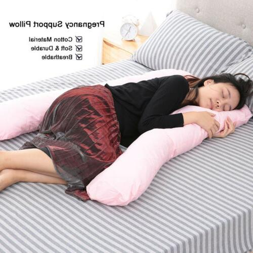 Full Pregnancy Pillow U-shaped Maternity for Women