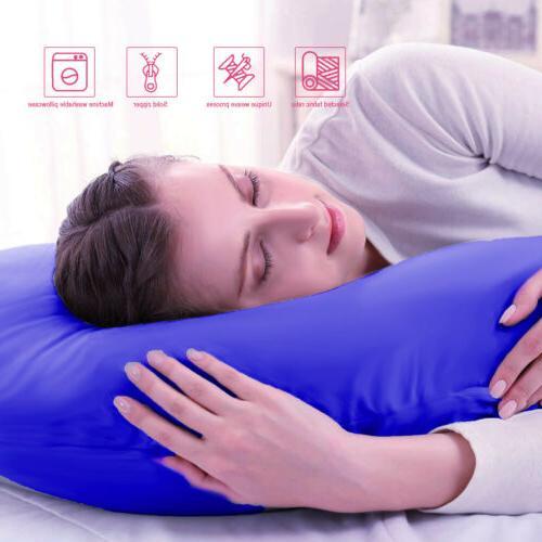 Pregnancy Pillow C Pillow Blue