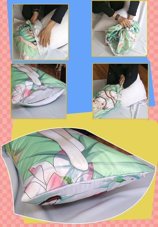 "59"" Legend Zelda Dakimakura Anime Body Case Cover"
