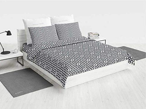 geometric toddler bedding sets grid