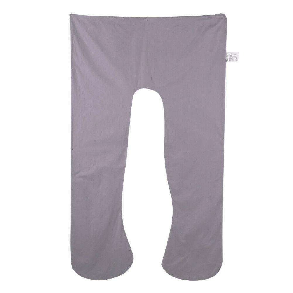 Grey Comfortable Full Body Pillow U Shape
