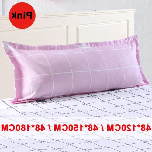 Grid Pattern Sofa Protector Case Pillowcase Pillow